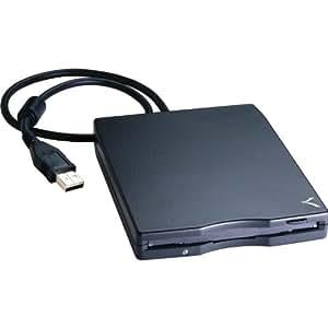TEAC 1.44MB USB External Floppy Disk Drive (Black)