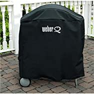 Weber-Stephen 6554 Weber Q on Cart Vinyl Grill Cover