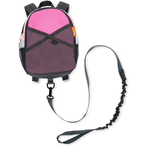Brica By-My-Sidetm Safety Harness Backpack (Pink) front-440880