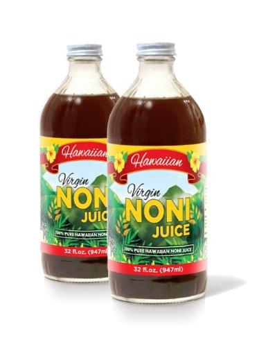Noni Concentrate 650 Mg: 100% Pure Organic Hawaiian Noni Juice
