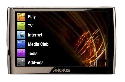 Archos 5 160 GB Internet Media Tablet