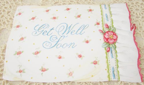 Carol Wilson Get Well Soon Greeting Card - Pillow