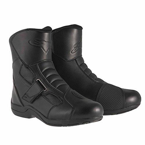 Alpinestars Ridge Waterproof Men's Street Motorcycle Boots (Black, EU Size 41) (Street Motor Cycle Boots compare prices)
