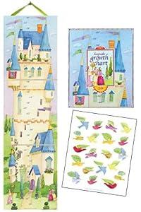 Eeboo Up In The Castle Growth Chart by Eeboo