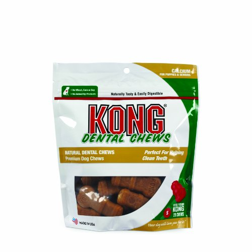 Kong Premium Treats Dental Chews Small Calcium