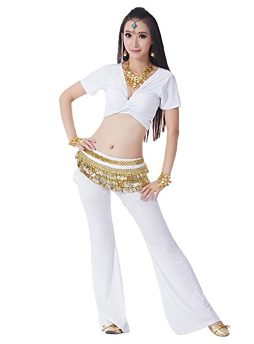 AveryDance Professional Belly Dance 3 Pieces Set Costume