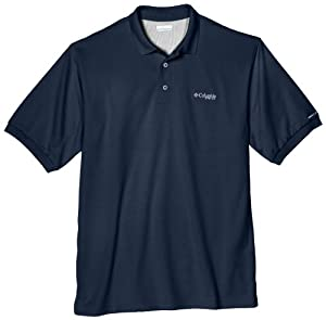 Columbia Men's Perfect Cast Polo Shirt (Tall), Collegiate, LT