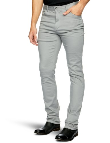 Independent Contempt 121 Slim Men's Trousers Smoke W32INxL32IN