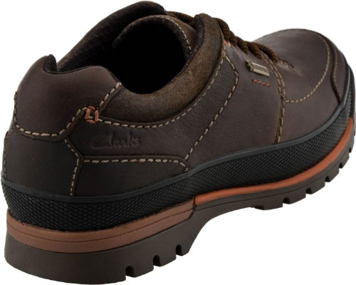 Clarks Men's Narly Path GTX Oxford,Mahogany Leather,9.5 M US