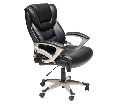 Serta Executive High Back Chair, Black 9076