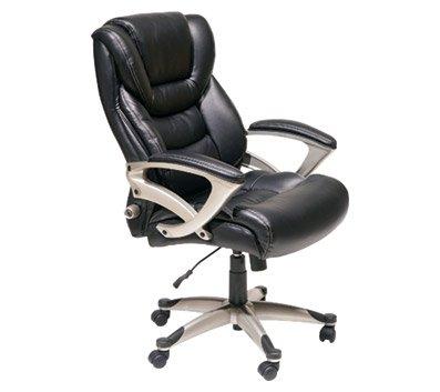 serta executive highback chair black