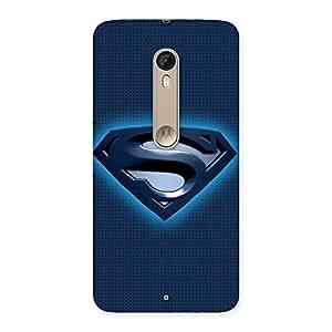Premier Blue Day Multicolor Back Case Cover for Motorola Moto X Style