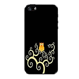 Vibhar printed case back cover for Apple iPhone 4 OwlBiege