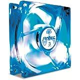 Antec TriCool Ventola, 80 mm, LED Blu