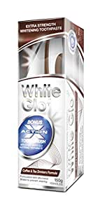 White Glo Coffee + Tea Drinkers Formula Whitening Toothpaste