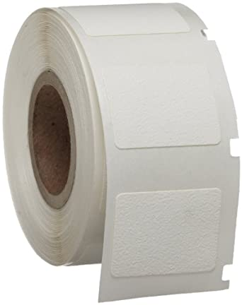 "Brady WML-511-502 I.D. PRO Plus LS2000 And BradyMarker 0.75"" Height, 1"" Width, B-502 Repositionable Vinyl Cloth White Color XC Plus Printer Labels (250 Per Roll)"