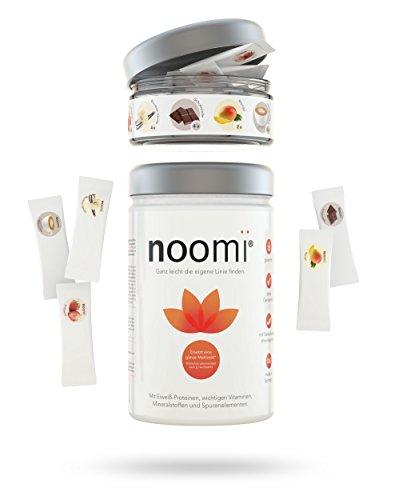 noomi-Ditdrink-Premium-Shake-inkl-Geschmacksvielfalt-Erdbeere-Vanille-Schokolade-Mango-Cappuccino-15-Portionen-1x-500g-Pulver-zzgl-90g-Flavour-Sticks