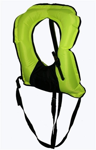 ADULT XL SNORKEL VEST WITH POCKET SNORKELING Bright Yellow