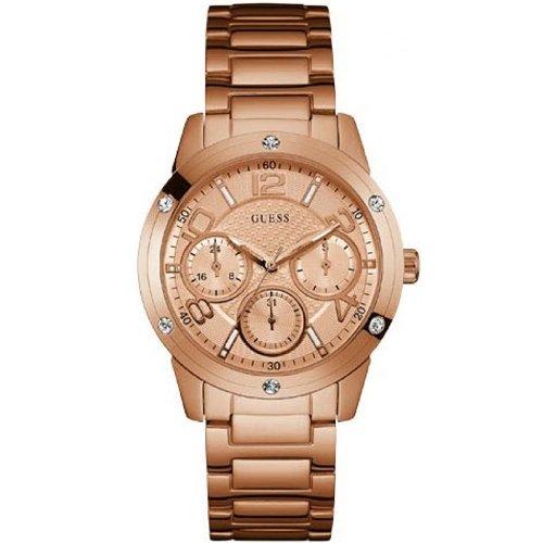 Guess W0778L3 - Reloj de pulsera Mujer, Acero inoxidable, color Oro Rosa