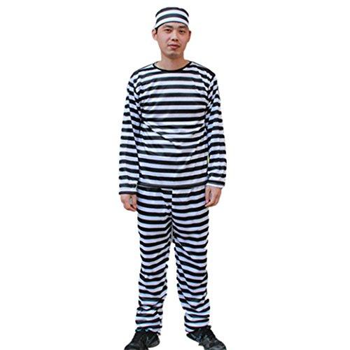 FEOYA (Black And White Striped Costume Ideas)