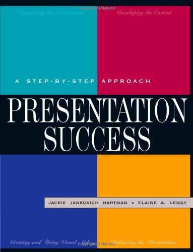Presentation Success: A Step-by-Step Approach