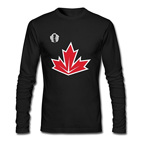 NYCQL Men's Canada Hockey 2016 World Cup of Hockey Long Sleeves T-Shirt