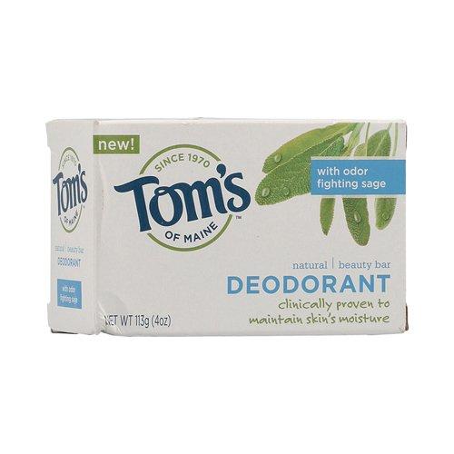 Toms of Maine Moisturizing Bar Deodorant 4-Ounces Bars ( Value Bulk Multi-pack)