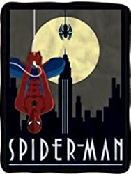 Fleece Blankets 60x45 Inch (SPIDERMAN HANG FLEECE BLANKET)
