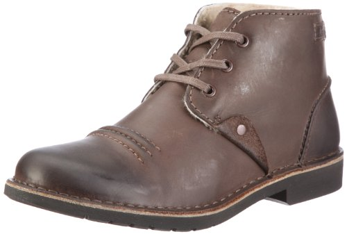 Clarks Motive Mix Boots Mens Brown Braun (Ebony WLined Lea) Size: 10 (44.5 EU)