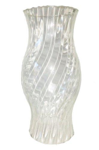 Windlicht Glaszylinder optisch aus klarem Glas ohne Boden Kristallglas Höhe 29 cm Oberstdorfer Glashütte