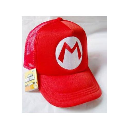 Mario Bro Trucker Hat   Red Mario