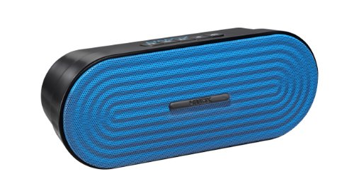 HMDX Rave Portable Rechargeable Wireless Speaker, Blue (Homedics Hmdx Blue compare prices)