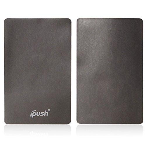 iPush ハイクオリティ 電磁波干渉防止シート for iPhone Android スマートフォン 非接触型ICカード 読取エラー防止