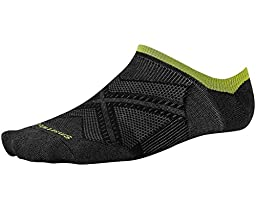 Smartwool PhD Run Ultra Light No Show Sock - Black X-Large
