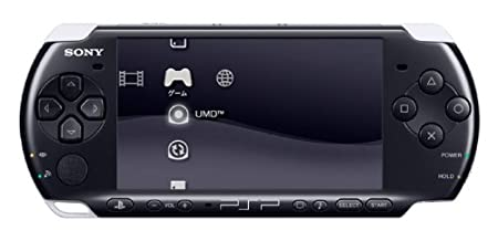 SONY PSP Playstation Portable Console JAPAN Model PSP-3000 Piano Black (Japan Import)