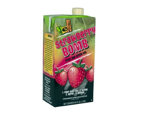 Jet Smoothie Mix, Strawberry Bomb, 64-Ounce Boxes (Pack Of 6)