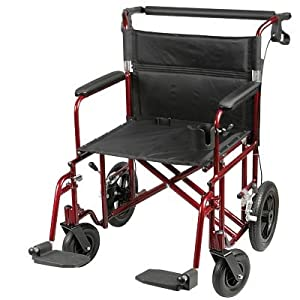 Drive Steel Bariatric Transport Chair - Affordable Transport Chairs