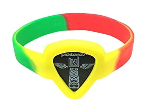 Pickbandz Bracelet Reggae Medium/Large - Guitar Pick Holder Bracelet