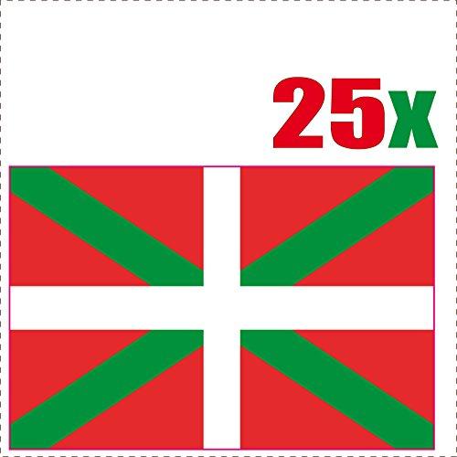 PAYS-BASQUE-25-stickers-autocollants-en-vinyl-et-mlange-de-tailles
