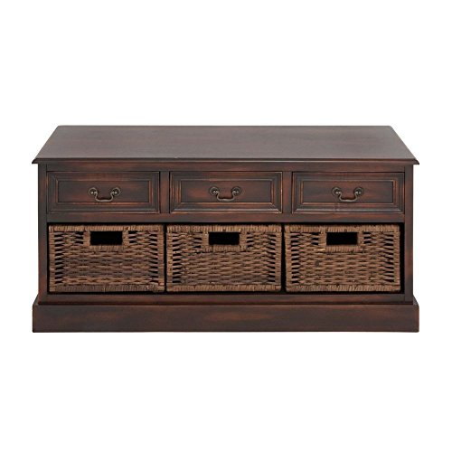 Dresser With Baskets front-1029089
