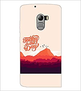PRINTSWAG TEXT Designer Back Cover Case for LENNOVO VIBE K4 NOTE