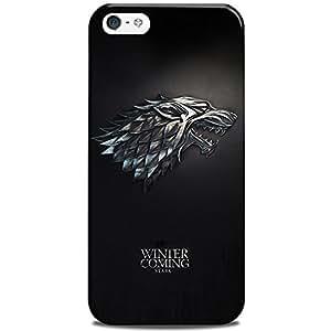 iPhone 5S Case/Back Cover, CASE U Designer Premium PolyCarbonate Case Back Cover for Apple iPhone 5S [Slim fit, scratch & impact resistant MATTE finish]