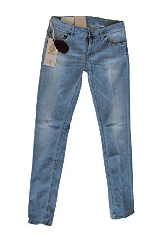 Dondup Jeans Donna P622 Lambda (32, Jeans Chiaro)