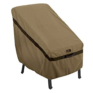 Classic Accessories 55-205-012401-EC Hickory Patio High Back Chair Cover by Classic Accessories
