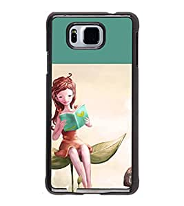 iFasho enjoy the life Back Case Cover for Samsung Galaxy Alpha