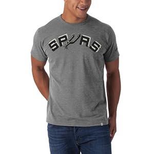 NBA San Antonio Spurs Fieldhouse Basic Tee, Slate Grey by