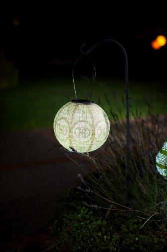 Allsop Home And Garden Soji Stella Globe Shape Solar