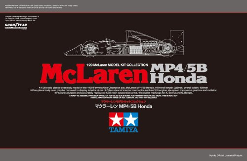 スケール限定シリーズ 1/20 マクラーレン MP4/5 Honda 89720