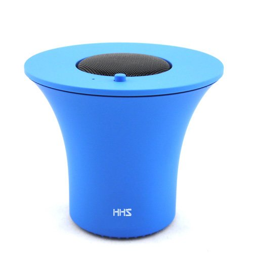Happyhomestation Portable Rechargeable Bluetooth Speaker , Wireless Speaker For Iphone, Ipad, Ipod, Samsung, Mobile Phones, Tablets Pc, Laptops, Ultrabook & More Devices (Blue)