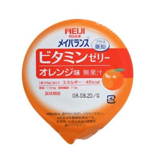 明治 メイバランスビタミンゼリーオレンジ味 58g